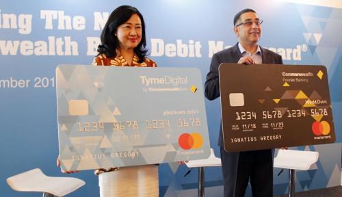 Foto Bank Commonwealth Gandeng Mastercard Luncurkan 2 Kartu Debit