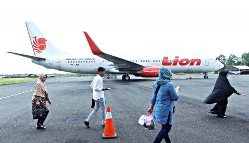 Foto Ogah Pilih Pesawat, Pemudik Angkutan Udara Merosot