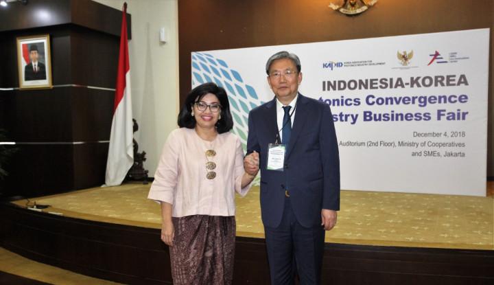 Indonesia-Korea Selatan Pererat Kemitraan Pengembangan UKM - Warta Ekonomi