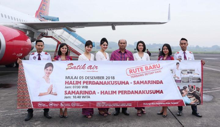 Foto Berita Batik Air Buka Rute Halim Perdana Kusuma-Samarinda