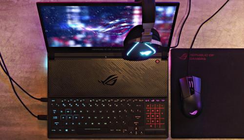Foto ASUS Zephyrus S GX531, Laptop Gaming Bertubuh Ramping