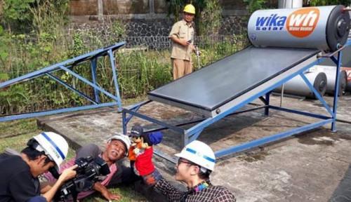 Foto Masuki Pasar Online Wika WH Sabet...