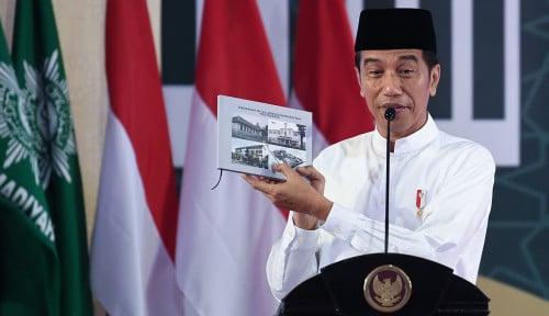 Foto Elektabilitasnya Tinggi, Jokowi Sebut Hasil Survei Bisa Meleset