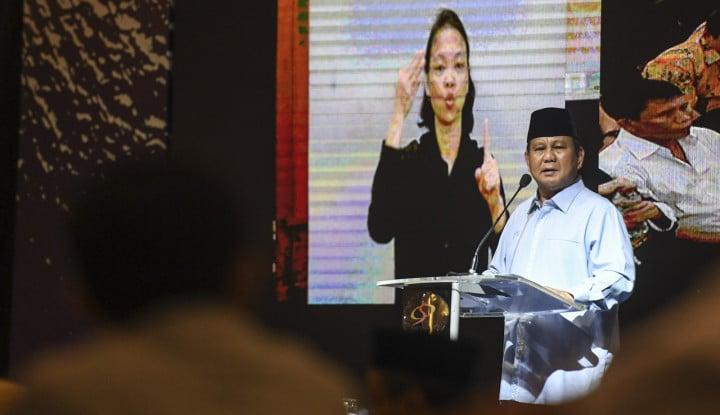 Ini Cara Prabowo Lalui Malam Tahun Baru...