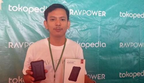Foto RAV Power PB096, Baterei Portable dengan Teknologi iSmart 2.0