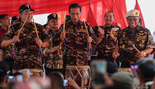 Foto FKPPI Wajib Dukung Jokowi-Ma'ruf, Alasannya 'Unik'