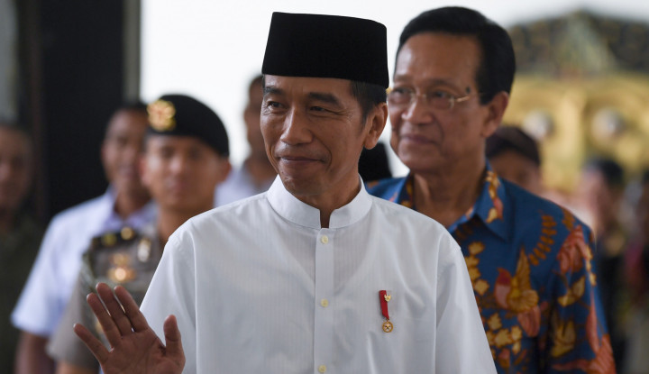 Foto Strategi Jokowi Menangkan Pilpres 'Unik'