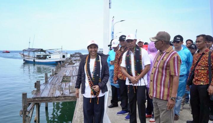 Foto Berita Menteri BUMN Resmikan Kapal Wisata Komodo dan Dermaga Pulau Rinca