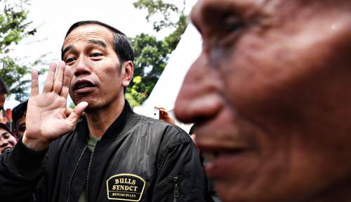 Hasil Survei Tak Menggembirakan, Apa Kata Jokowi?