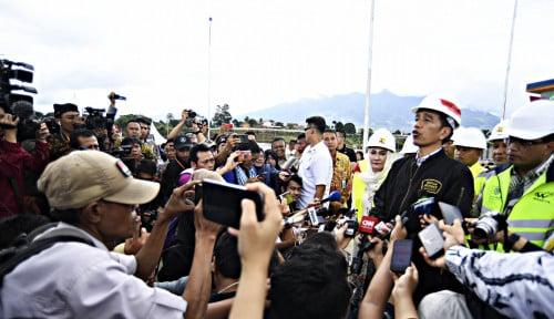 Foto Proyek Infrastruktur Banyak yang Rampung, Jokowi Akui Sedang Keteteran