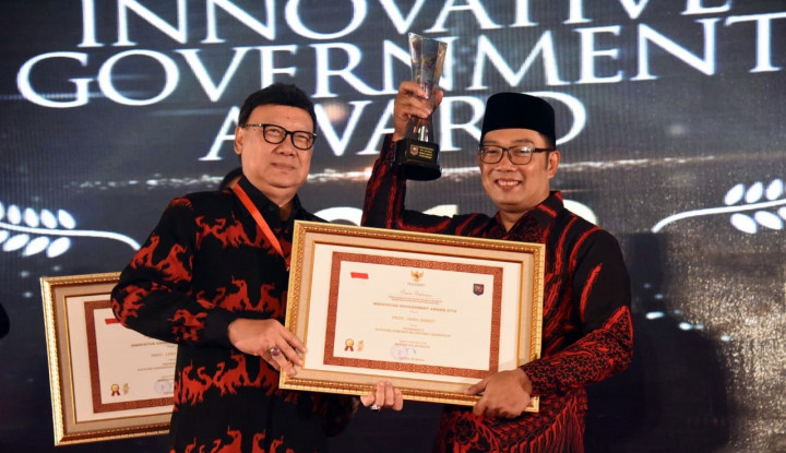 Foto Berita Alhamdulillah, Jawa Barat Raih Penghargaan Provinsi Terinovatif Versi IGA 2018