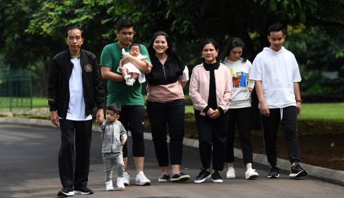 Foto Anak Jokowi Cocok Jadi Kepala Bekraf