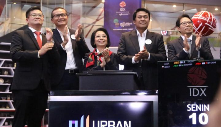 Foto Berita IPO, Urban Jakarta Propertindo Resmi Melantai