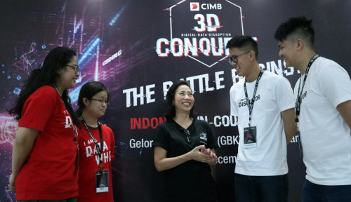 Foto 10 Tim Juarai CIMB 3D Conquest In Country Hackathon Indonesia