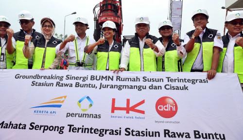 Foto Sinergi BUMN Bangun Hunian Terintegrasi di Kawasan Tangerang Selatan