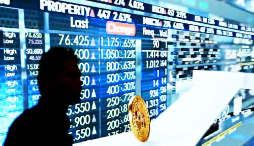 Foto Nilai Kapitalisasi Pasar Modal Pekan Ini Amblas 1,63%