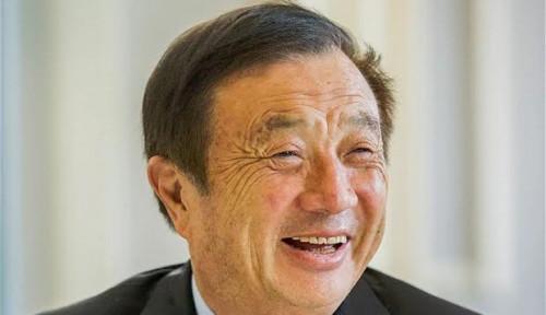 Foto Memulai Bisnis Usai Pensiun, Ini Kisah Sukses Pendiri Huawei