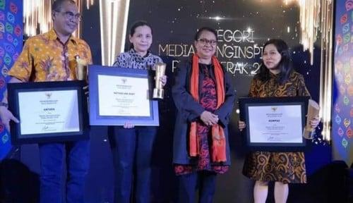 Foto Apresiasi Media, Kementerian PPPA Gelar Penganugerahan Merak 2018