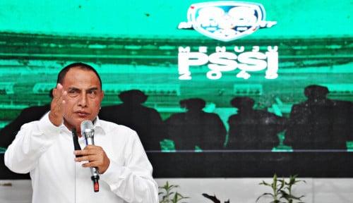 Foto Jadi Ketum PSSI Bukan Kemauan Edy Rahmayadi, Tapi...