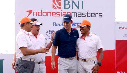 Foto Justin Rose Hadir Pada Pro-Am Indonesian Masters 2018