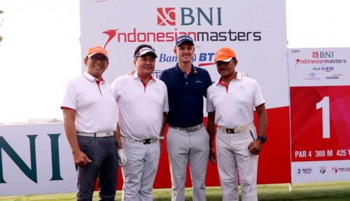Foto BNI Kembali Wujudkan Turnamen Pro-Am Indonesian Masters 2018