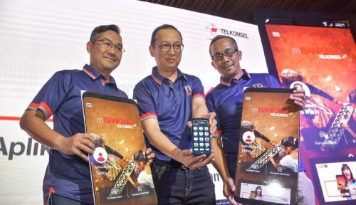 Foto Permudah Pelanggan, Telkomsel Luncurkan mBanking Telkomsel