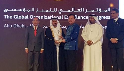 Foto Perum Jamkrindo Sabet Penghargaan di Global Perfomance Excellence Award