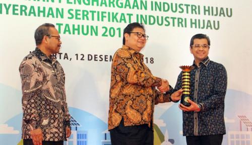 Foto Lima Kali Berturut-turut, Semen Indonesia Raih Penghargaan Industri Hijau Level 5