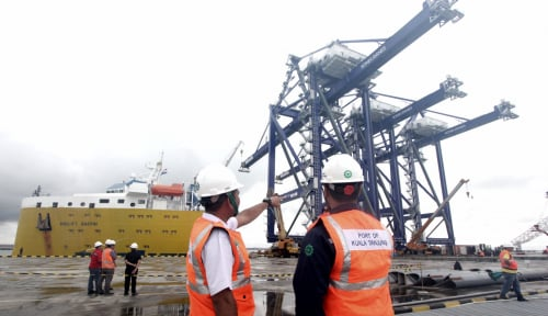 Foto Pelabuhan Malili Jadi Jalur Ekspor Terbesar di Sulsel