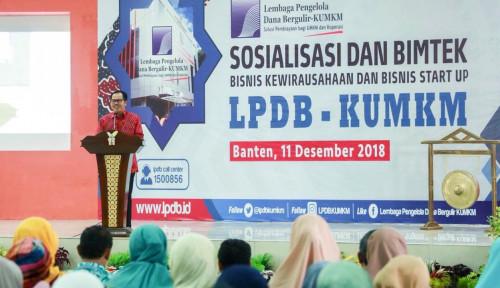 Foto LPDB Komitmen Bantu Pengembangan Bisnis Pelaku KUMKM Banten