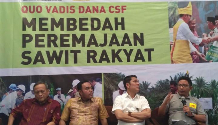 Foto Berita CPO Supporting Fund Tingkatkan Produktivitas Petani Kelapa Sawit