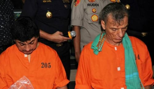 Foto Bawa Narkoba ke Bali, 5 WNA Diamankan Polisi