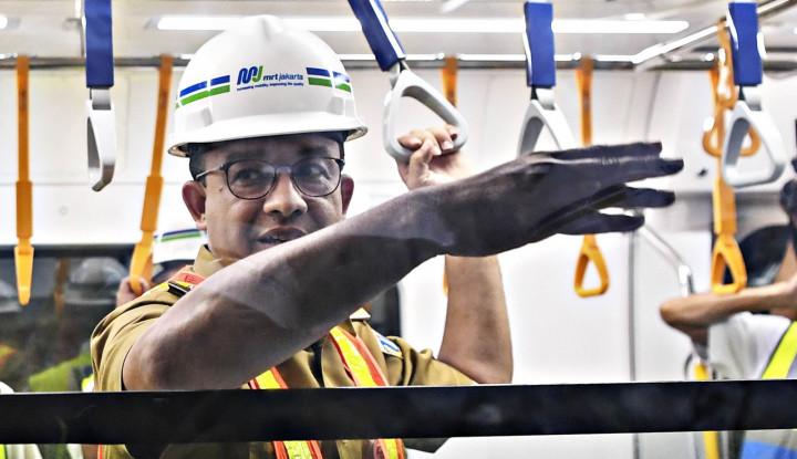 Foto Berita Beri Nama Ratangga, Anies Terinspirasi Kereta Perang