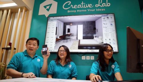 Foto Pertama di Indonesia, Creative Lab Niro Ceramic Bidik Pasar Bandung