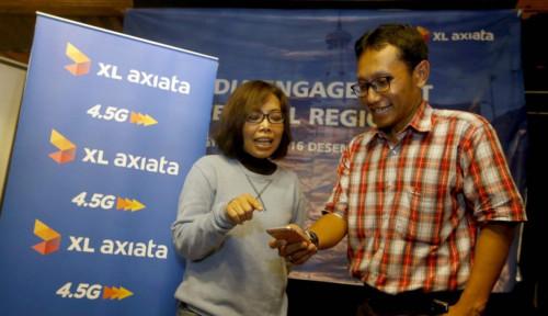 Foto Trafik Layanan Data XL Axiata Naik 58%