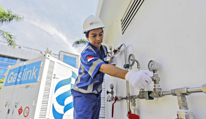Proyek Jaringan Gas Rumah Tangga PGN Capai 73,8%