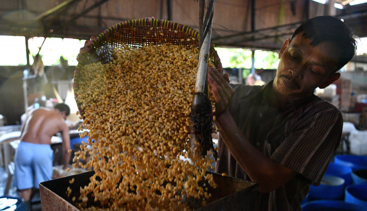 Foto Berita Indonesia Pasar Penting Produk Kacang Kedelai AS