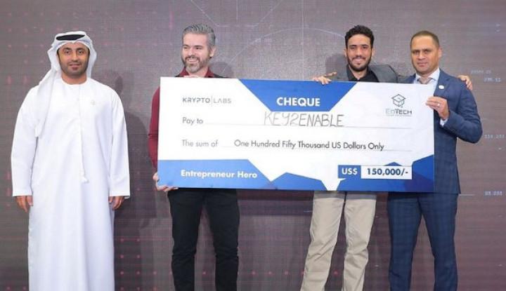 Menangkan Kompetisi di Abu Dhabi, Startup Brazil Key2Enable Raih Rp2,1 M - Warta Ekonomi