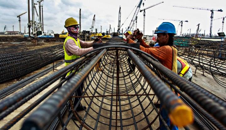 Miris, Hanya 2% Pekerja Konstruksi Tersertifikasi - Warta Ekonomi