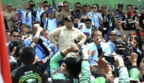Foto Sebut Tarif Ojol Terlalu Rendah, Prabowo Lagi Sindir Grab?