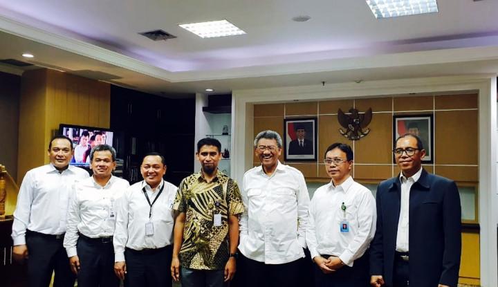 Foto Berita Bos Pelindo IV Ketemu Kepala BPKP & KSAL, Ini yang Dibahas!