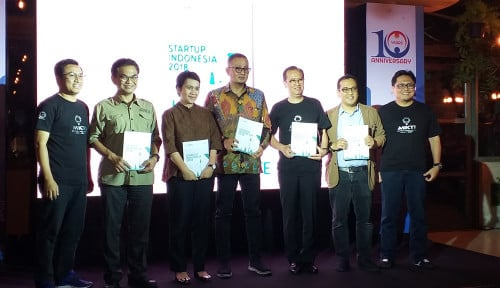 Foto MIKTI Rilis Buku Mapping dan Database Startup Indonesia 2018