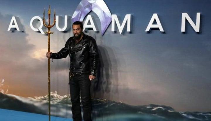 Foto Berita Pendapatan Film Aquaman Tembus US$260 Juta