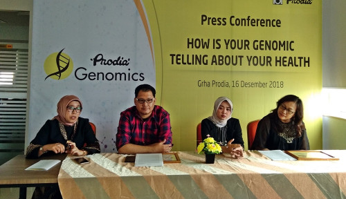 Foto Hindari Penyakit Kanker, Prodia Kenalkan Genomics-Carisk di Medan