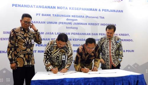 Foto Jamkrindo Perkuat Sinergi Berkelanjutan dengan BTN
