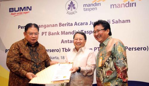Foto Bank Mantap Kantongi Dana Segar Rp500 M dari Bank Mandiri dan Taspen