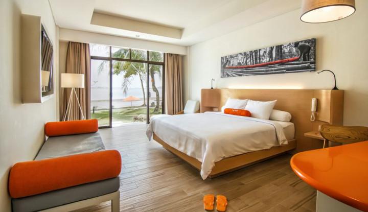 Usai Renovasi, Harris Resort Waterfront Batam Kembali Dibuka dengan Nama Baru - Warta Ekonomi