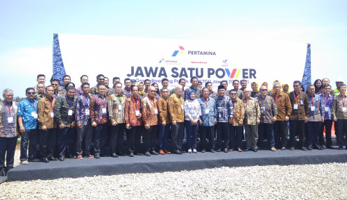 Foto Resmi Dibangun, PLTGU Jawa 1 Bakal Rampung Akhir 2021