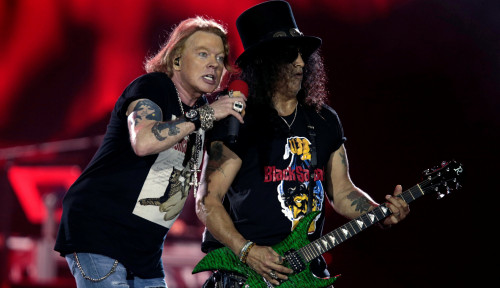 Foto Ssst, Album Baru Guns N' Roses Bakal Segera Rilis