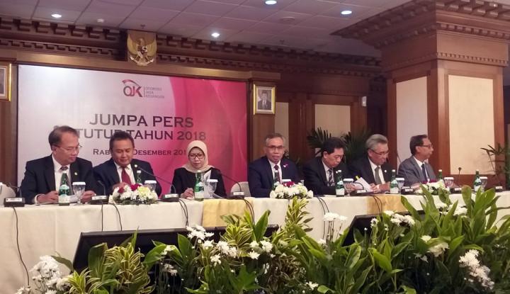 Foto Berita OJK Sebut Industri Keuangan Stabil Selama 2018